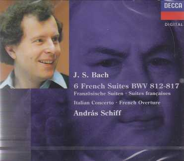 J.S. Bach / French Suites / Italian Concerto / French Overture / András Schiff 2CD