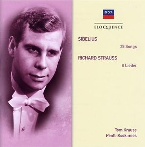 Jean Sibelius / Songs / Richard Strauss / Lieder // Tom Krause / Pentti Koskimies