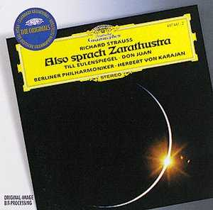Richard Strauss / Also sprach Zarathustra / Till Eulenspiegel / Don Juan etc. / Berliner Philharmoniker / Herbert von Karajan