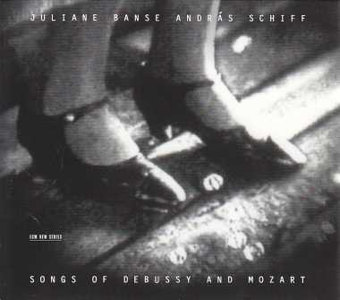 Claude Debussy / Songs / W.A. Mozart / Songs / Juliane Banse / András Schiff