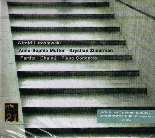 Witold Lutoslawski / Piano Concerto / Partita / Chain 2 // Anne-Sophie Mutter / Krystian Zimerman