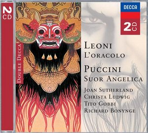 Franco Leoni / L'Oracolo / Giacomo Puccini / Suor Angelica / Joan Sutherland / Christa Ludwig / National Philharmonic Orchestra / Richard Bonynge 2CD