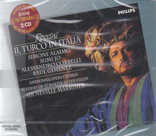 Gioachino Rossini / Il Turco in Italia / Simone Alaimo / Sumi Jo / Academy of St Martin in the Fields / Sir Neville Marriner