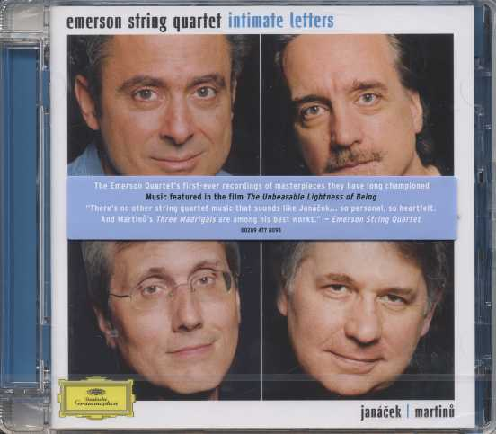 Leoš Janácek / String Quartets / Bohuslav Martinu / Three Madrigals / Emerson String Quartet
