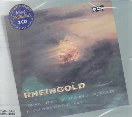 Richard Wagner / Das Rheingold / George London / Kirsten Flagstad / Wiener Philharmoniker / Sir Georg Solti