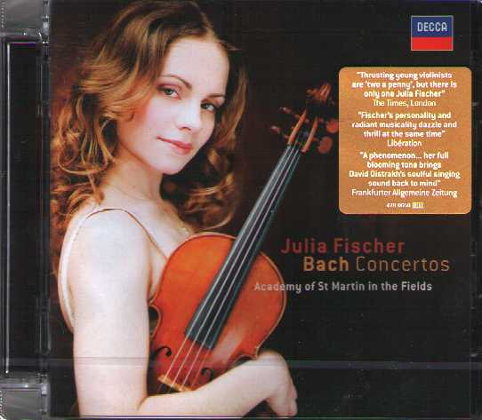 J.S. Bach / Violin Concertos / Julia Fischer / Academy of St. Martin in the Fields