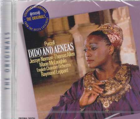 Henry Purcell / Dido and Aeneas / Jessye Norman / Thomas Allen / English Chamber Orchestra / Raymond Leppard