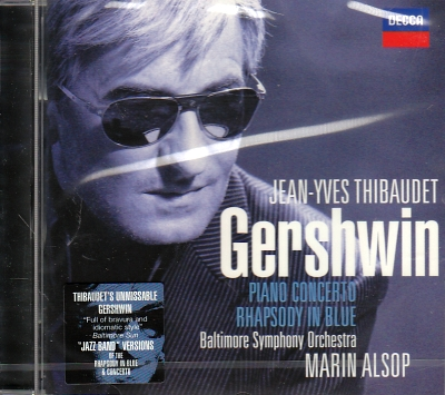George Gershwin / Rhapsody in Blue / Piano Concerto // Jean-Yves Thibaudet / Baltimore Symphony Orchestra / Marin Alsop