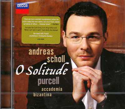 Henry Purcell / O Solitude // Andreas Scholl