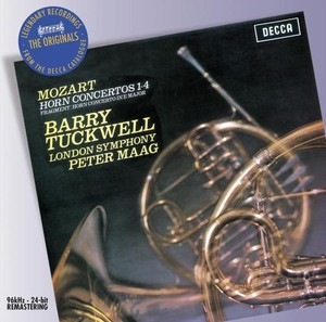 W.A. Mozart / Horn Concertos / Barry Tuckwell / LSO / Peter Maag