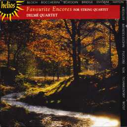 Delme Quartet / Favourite Encores for String Quartet