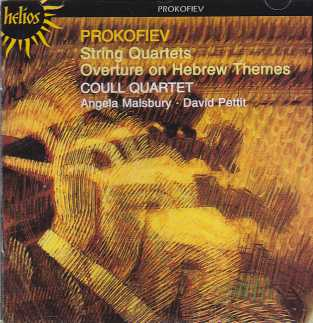 Sergei Prokofiev / String Quartets & Overture on Hebrew Themes / Coull Quartet