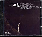 Kurt Weill / Concerto for Violin and Winds / Peteris Vasks / Violin Concerto