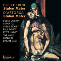 Luigi Boccherini / Stabat Mater, Op. 61 / Emanuele D'Astorga / Stabat Mater / The Choir of the King's Consort / Robert King / SACD
