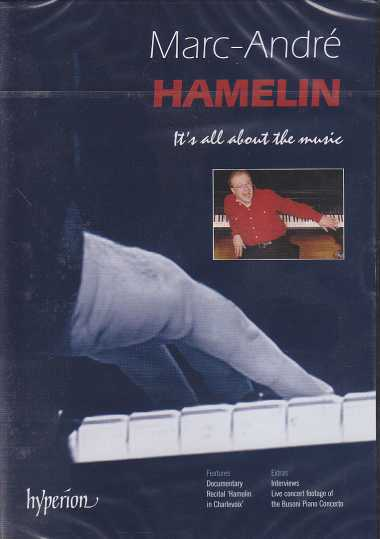 Marc-André Hamelin / It's All About The Music DVD