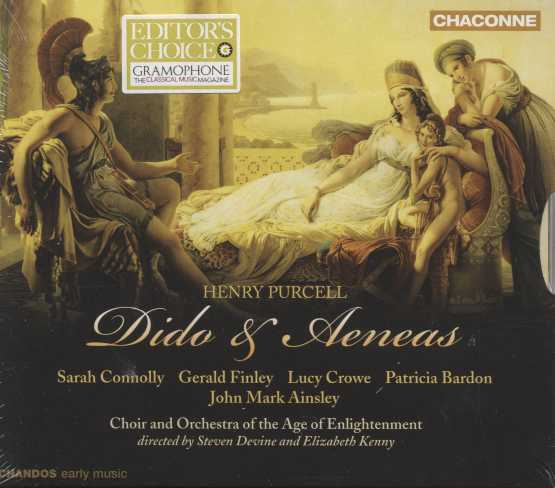Henry Purcell / Dido and Aeneas / Sarah Connolly / Gerald Finley / Orchestra of the Age of Enlightenment / Steven Devine / Elisabeth Kenny