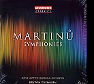 Bohuslav Martinu / Symphonies / Royal Scottish National Orchestra / Bryden Thomson