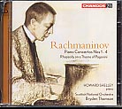 Sergei Rachmaninov / Piano Concertos / Paganini Rhapsody / Howard Shelley / Scottish National Orchestra / Bryden Thomson