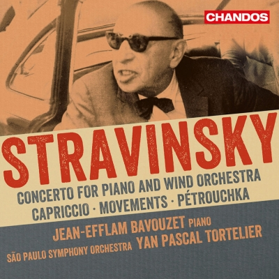 Igor Stravinsky / Concerto for Piano and Wind Instruments / Capriccio / Movements / Pétrouchka // Jean-Efflam Bavouzet / São Paulo Symphony Orchestra / Yan Pascal Tortelier