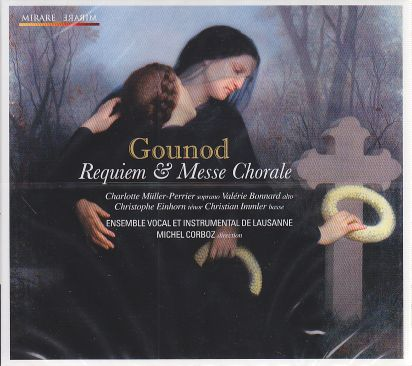 Charles Gounod / Requiem & Messe Chorale / Ensemble Vocal et Instrumental de Lausanne / Michel Corboz