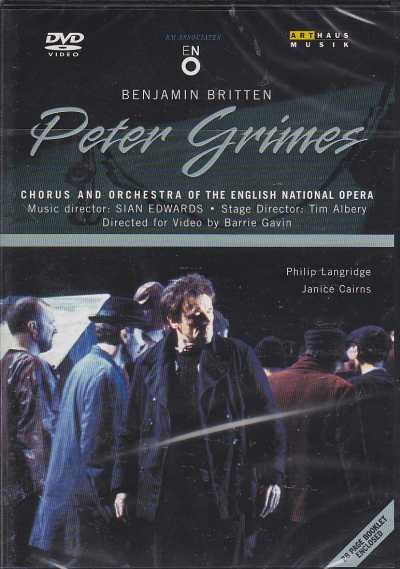 Benjamin Britten / Peter Grimes / Philip Langridge / Janice Cairns / English National Opera Orchestra & Chorus / David Atherton DVD