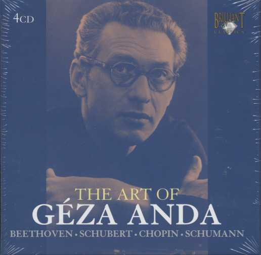 The Art of Geza Anda 4CD