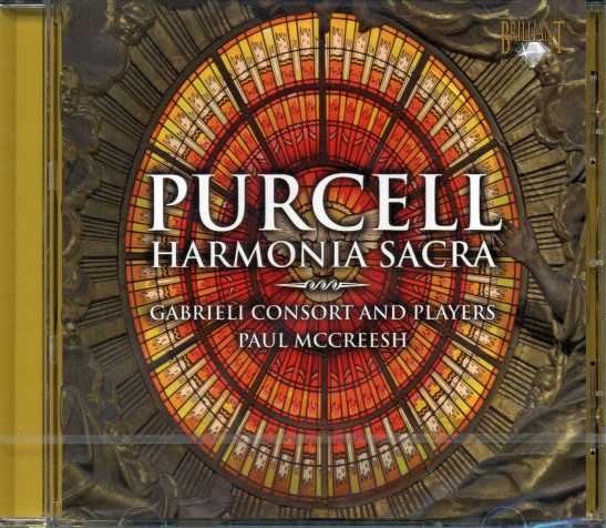 Henry Purcell / Harmonia Sacra / Gabrieli Consort and Players / Paul McCreesh