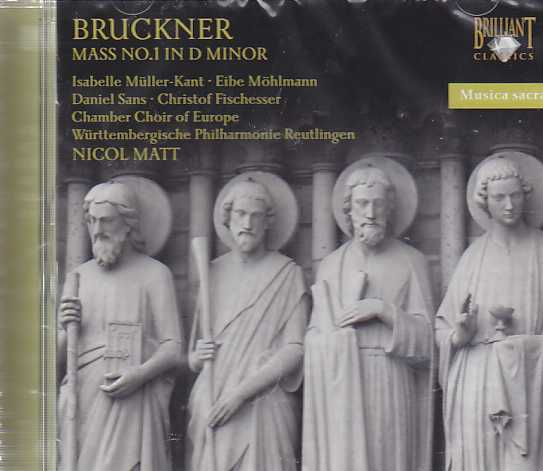 Anton Bruckner / Mass No. 1 in D minor / Württembergische Philharmonie Reutlingen / Nicol Matt
