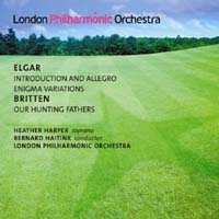 Edward Elgar / Enigma Variations / Benjamin Britten / Our Hunting Fathers / London Philharmonic Orchestra / Bernard Haitink