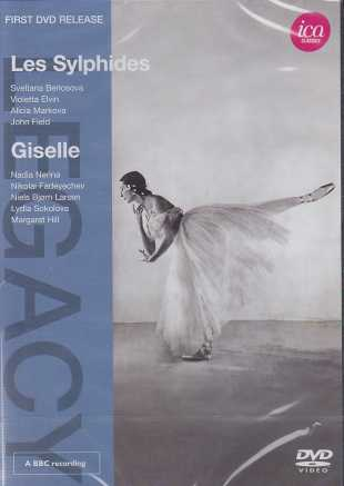 Frédéric Chopin / Les Sylphides / Adolphe Adam / Giselle / The Covent Garden Orchestra / Hugo Rignold DVD