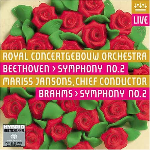 Ludwig van Beethoven / Symphony No. 2 / Johannes Brahms / Symphony No. 2 / Royal Concertgebouw Orchestra / Mariss Jansons SACD