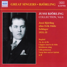Jussi Björling / Collection Vol. 6