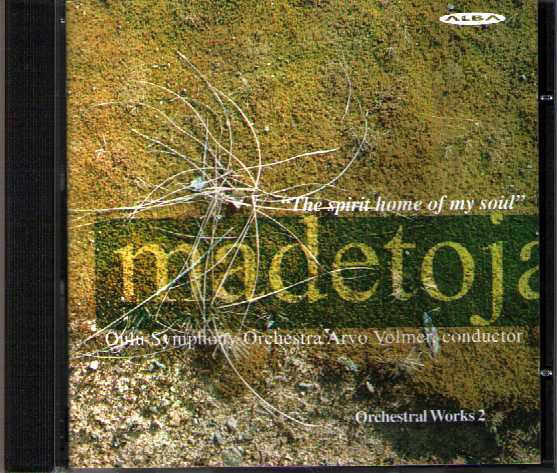 Leevi Madetoja: Orchestral Works 2 / Oulu Symphony Orchestra / Volmer