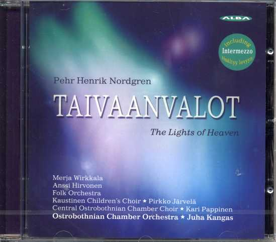 Pehr Henrik Nordgren / Taivaan valot - The Lights of Heaven / Ostrobothnian CO / Juha Kangas