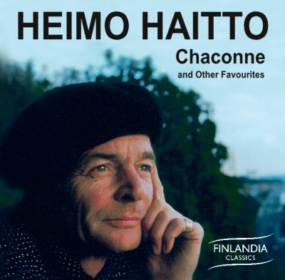 Heimo Haitto / Chaconne and Other Favourites // J.S. Bach / Franz Schubert / Joseph-Hector Fiocco / Giuseppe Tartini / Jean Sibelius / Arcangelo Corelli / Jules Massenet / Claude Debussy / Maurice Ravel