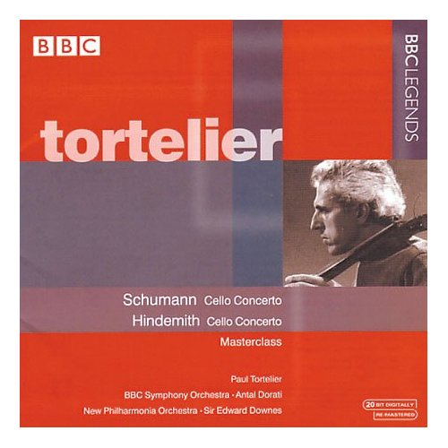 Robert Schumann / Paul Hindemith / Cello Concertos / Paul Tortelier