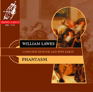 William Lawes / Consorts in Four and Five Parts / Phantasm