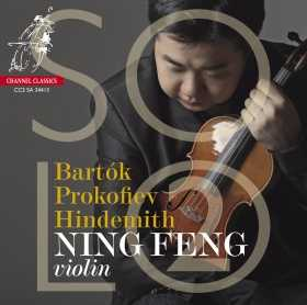 Ning Feng / Solo 2 // Béla Bartók / Sergei Prokofiev / Paul Hindemith