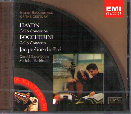 Joseph Haydn / Luigi Boccherini / Cello Concertos / Jacqueline du Pré / Great Recordings of the Century
