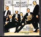 W.A .Mozart / Music for Piano and Wind Quintet / Berlin Philharmonic Wind Quintet / Stephen Hough