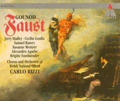 Charles Gounod / Faust / Jerry Hadley / Cecilia Gasdia / Chorus and Orchestra of Welsh National Opera / Carlo Rizzi