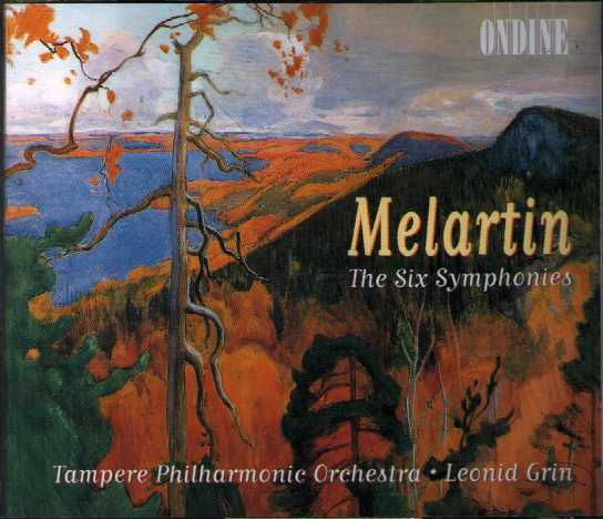 Erkki Melartin / The Six Symphonies // Tampere Philharmonic Orchestra / Leonid Grin