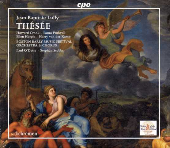 Jean-Baptiste Lully / Thésée / Howard Crook / Laura Pudwell / Boston Early Music Festival Orchestra & Chorus /Paul O'Dette & Stephen Stubbs