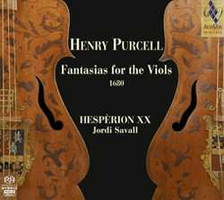 Henry Purcell / Fantasias for the Viols / Hesperion XX / Jordi Savall