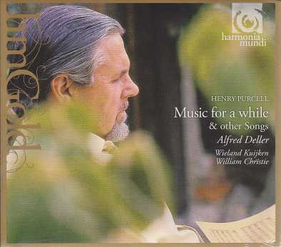Henry Purcell / Music for a while / Alfred Deller