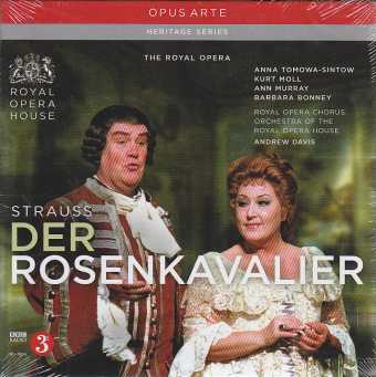 Richard Strauss / Der Rosenkavalier / Anna Tomowa-Sintow / Kurt Moll / Orchestra of the Royal Opera House / Andrew Davis 3CD