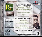 Camille Saint-Saëns / Symphony No. 3 / Modest Mussorgsky / Pictures at an Exhibition / Rotterdam PO / Edo de Waart SACD