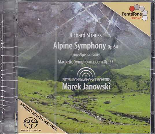 Richard Strauss / Alpine Symphony / Pittsburgh SO / Marek Janowski SACD