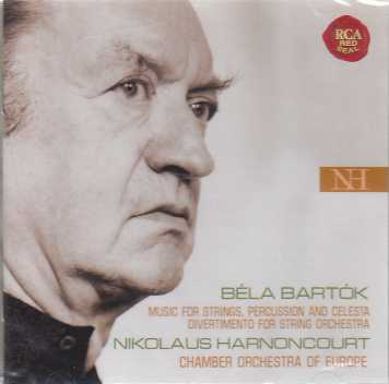 Béla Bartók / Music for Strings, Percussion and Celesta / Chamber Orchestra of Europe / Nikolaus Harnoncourt