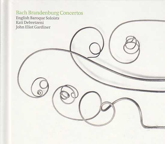J.S. Bach / Brandenburg Concertos (Complete) / English Baroque Soloists 2CD